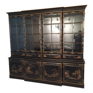 Union National Asian Chinoiserie Breakfront