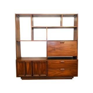 Vintage Mid-Century Modern Desk & Room Divider