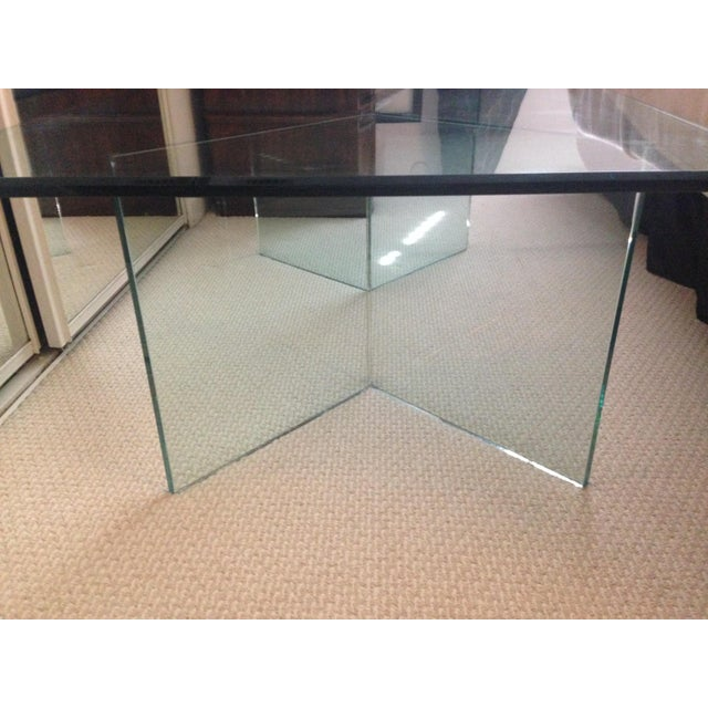 3 Piece Glass Coffee Table - Image 3 of 4