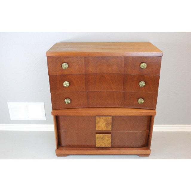 Mid-Century Modern Chest by Bassett - Image 3 of 9