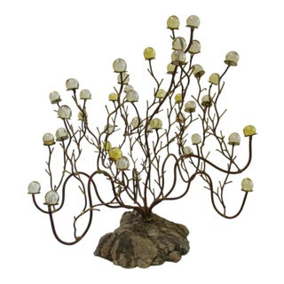 Organic Modern Lucite Tree Sculpture