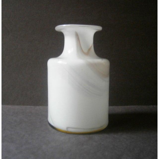 Holmegaard Cascade Cased Glass Vase by Per Lutken - Image 4 of 5