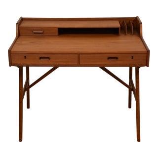 Arne Wahl Iversen Danish Modern Teak Desk