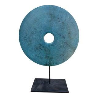 Chinese Stone Bi Disk