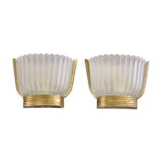 Archimede Seguso Sconces - Pair