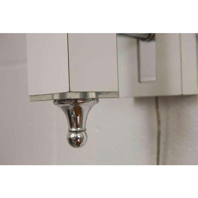 Pair of Midcentury Wall Sconce with Lucite Accents - Image 7 of 9