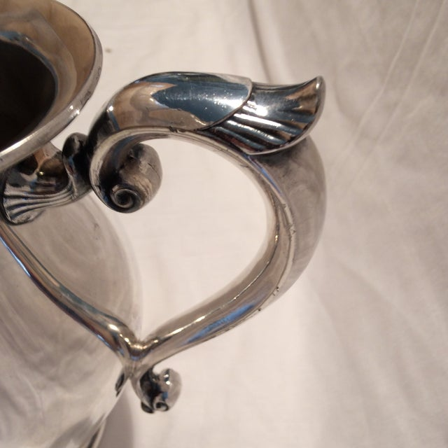 Antique Silver Pitcher by Sheffield Early 1900's - Image 7 of 10
