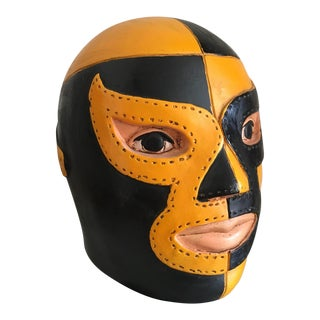 Lucha Libre Ceramic Money Box