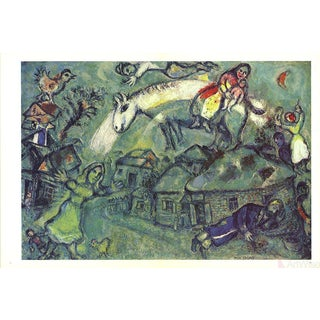 Marc Chagall Dlm No. 182 Pages 12,13-1969 Poster