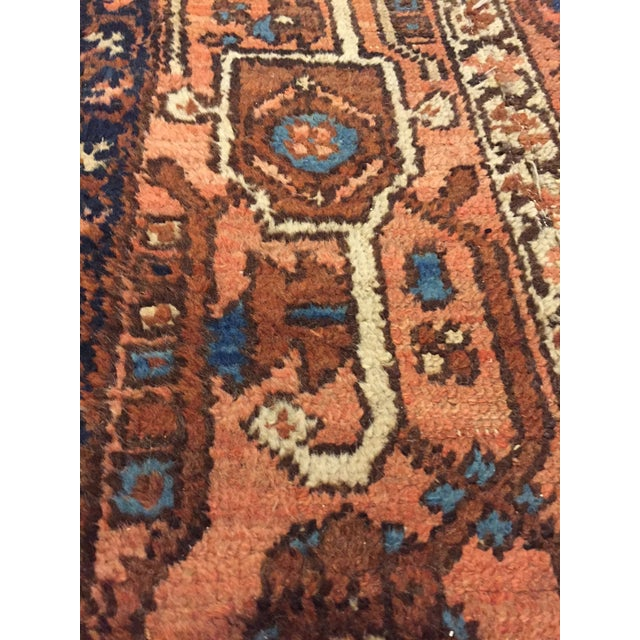 Vintage Hand Woven Persian Runner - 2′6″ × 8′ - Image 9 of 10