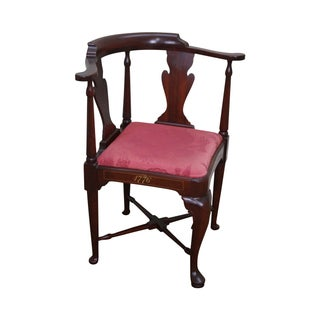 Hickory Co. Vintage Bi-Centennial Mahogany Chair
