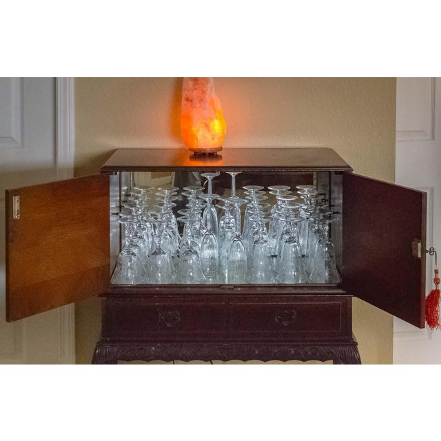 Image of Mirrored Liquor Cabinet