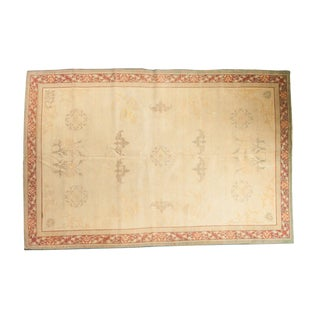Distressed Indo Chinese Carpet - 6' x 9'