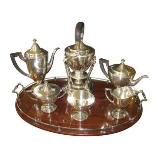 8-Piece Tiffany Co. Coffee & Tea Set
