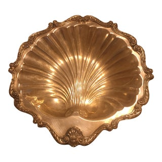 Scallop Shell English Silver Tray