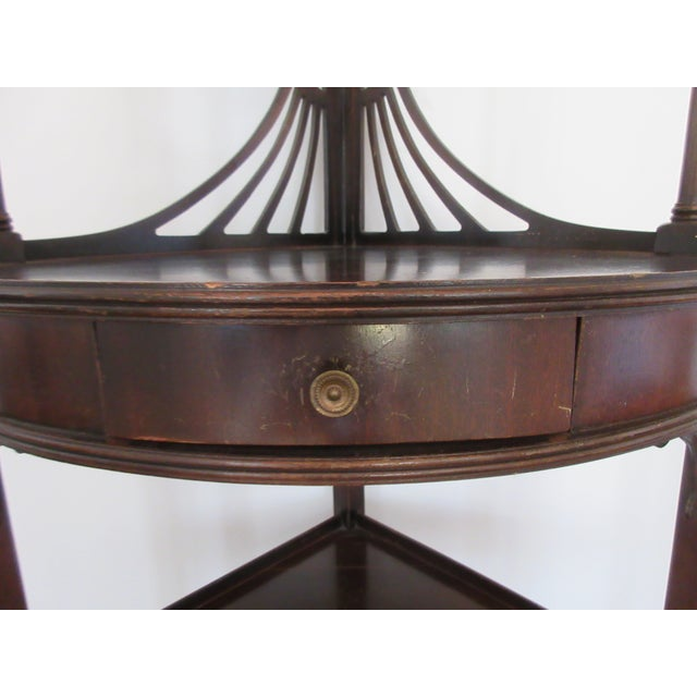 Antique Chippendale Five Tiered Etagere - Image 6 of 11