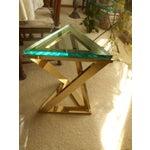 Image of Milo Baughman Triangle Pedestal Table