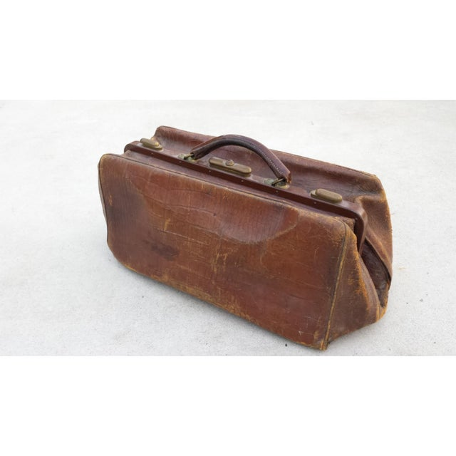 Brown Leather Doctor's Bag - Image 2 of 6