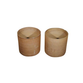 David Cressey Architectural Pottery Planters - A Pair