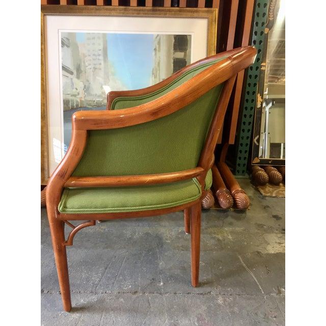 Green Corduroy & Bent Wood Chair - Image 8 of 8