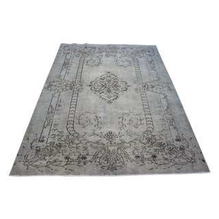 Turkish Overdyed Area Rug - 6′2″ × 9′5″