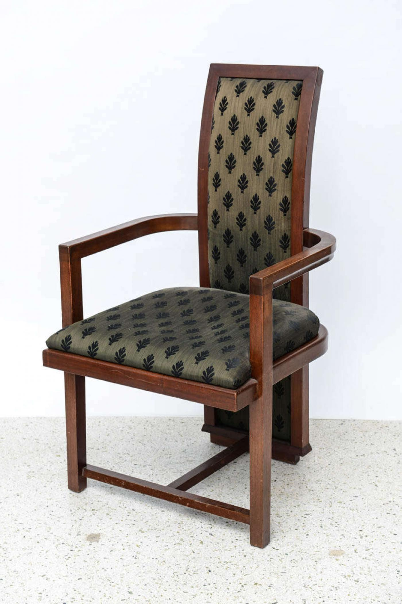 set of 12 frank lloyd wright taliesin mahogany dining chairs by henredon image 8 of