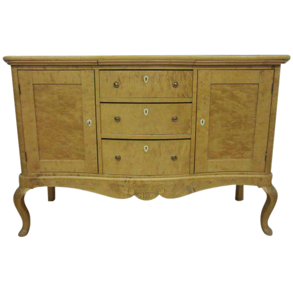 Biedermeier Sideboard Or Liquor Cabinet