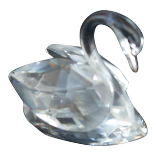 Swarovski Crystal Swan