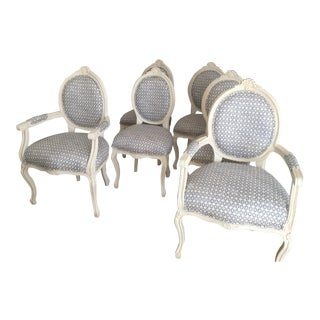 French Dining Room Chairs - Set of 6