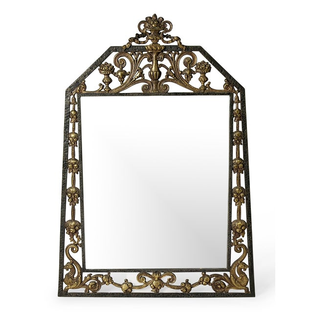 Neo-Gothic Mirror by Oscar Bach - Image 1 of 4