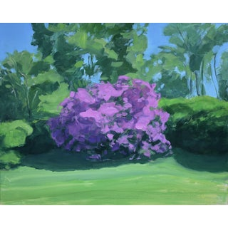 Stephen Remick Rhododendron Painting