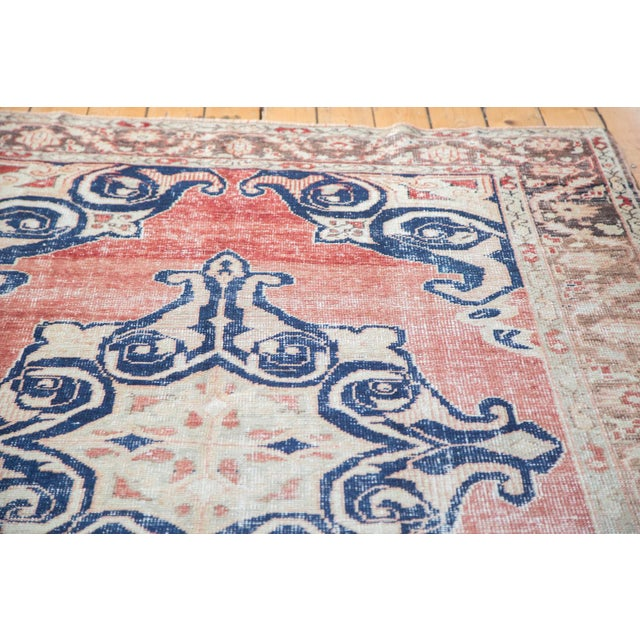 "Distressed Oushak Carpet - 6' X 9'4"" - Image 3 of 10"