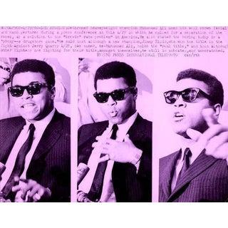 Muhammad Ali Art Piece