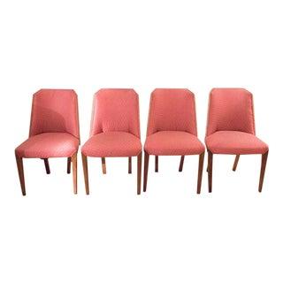 1930's Biedermeier Style Deco Chairs - Set of 4