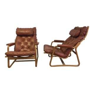 Danish Lounge Chairs For Cado - A Pair
