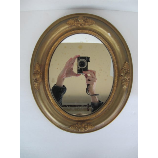 Vintage Fruit & Flower Accent Gold Mirror - Image 2 of 10