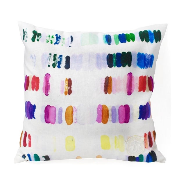 Image of Colorful Heavenly Palette Pillow