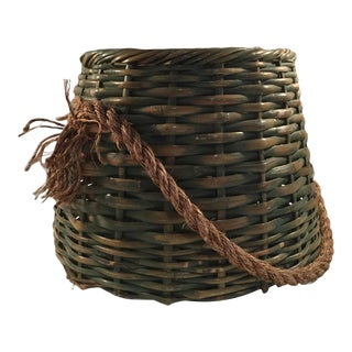 Vintage Wicker Basket