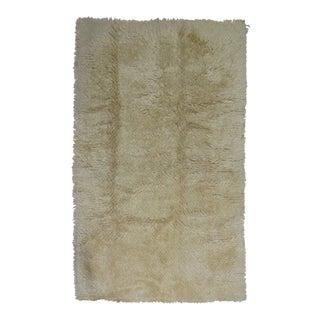 Vintage Tulu Shag Rug, 5'2'' x 8'