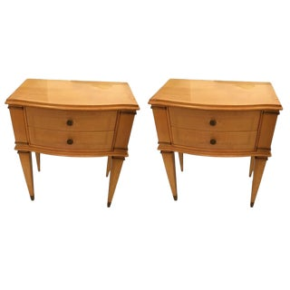 Circa 1940 Andre Arbus Style End Tables - A Pair