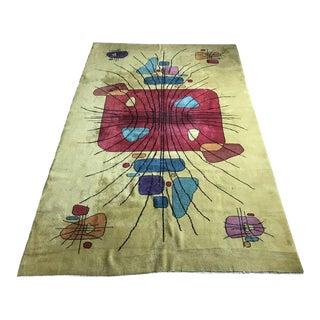 """Vintage Zeki Muren Turkish Rug """"Keenan"""" - 7' x 10'8"""""""