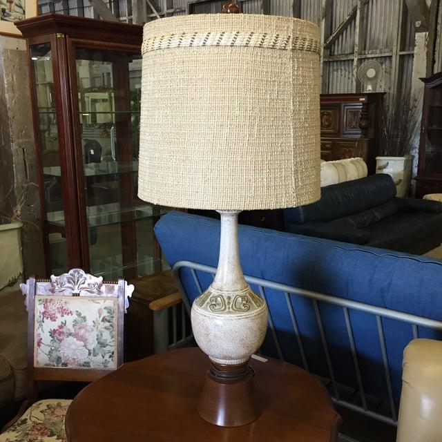 Image of Mid-Century Ceramic Table Lamp