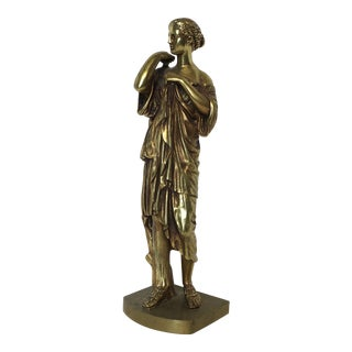 Bronze Neoclassical Grand Tour Statue