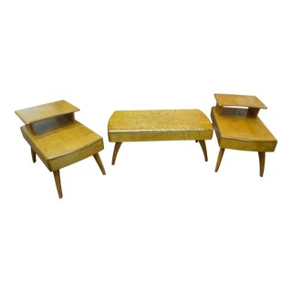 Heywood Wakefield Cocktail Table & Side Tables - Set of 3