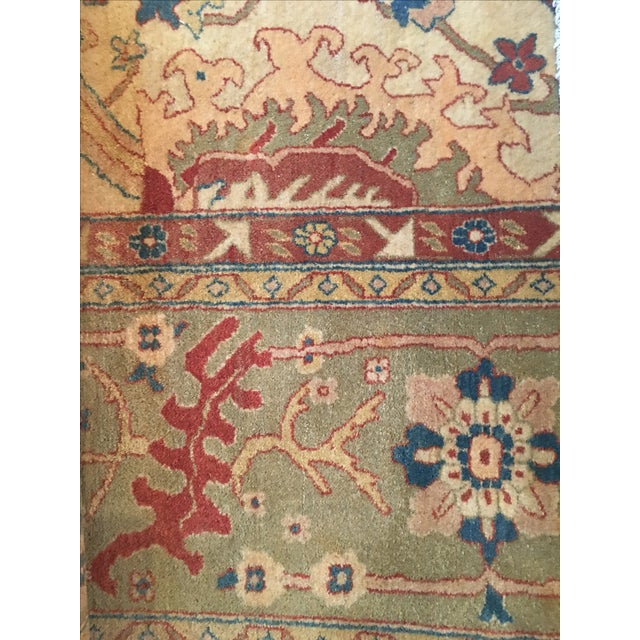"""Vintage Hand Knotted Rug - 8'6"""" X 12' - Image 4 of 4"""