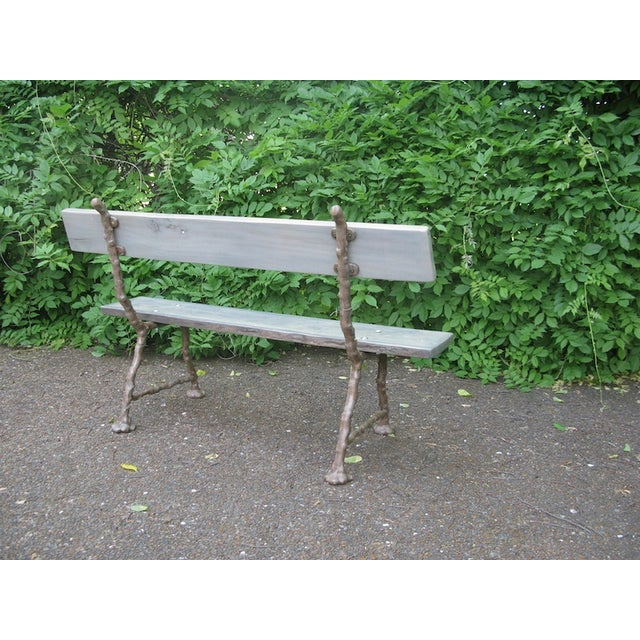Image of Faux Bois Bench