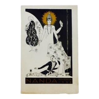 """1928 San Francisco Bohemian Club """"Nanda"""" Program"""