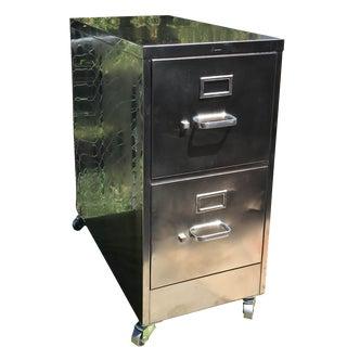 Vintage Steel File Cabinet