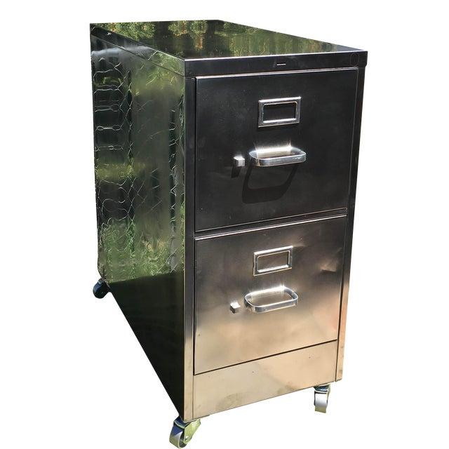 Image of Vintage Steel File Cabinet