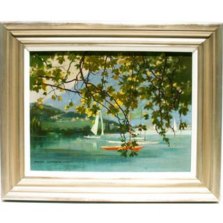 Frank Duffield Lake Lucerne Painting